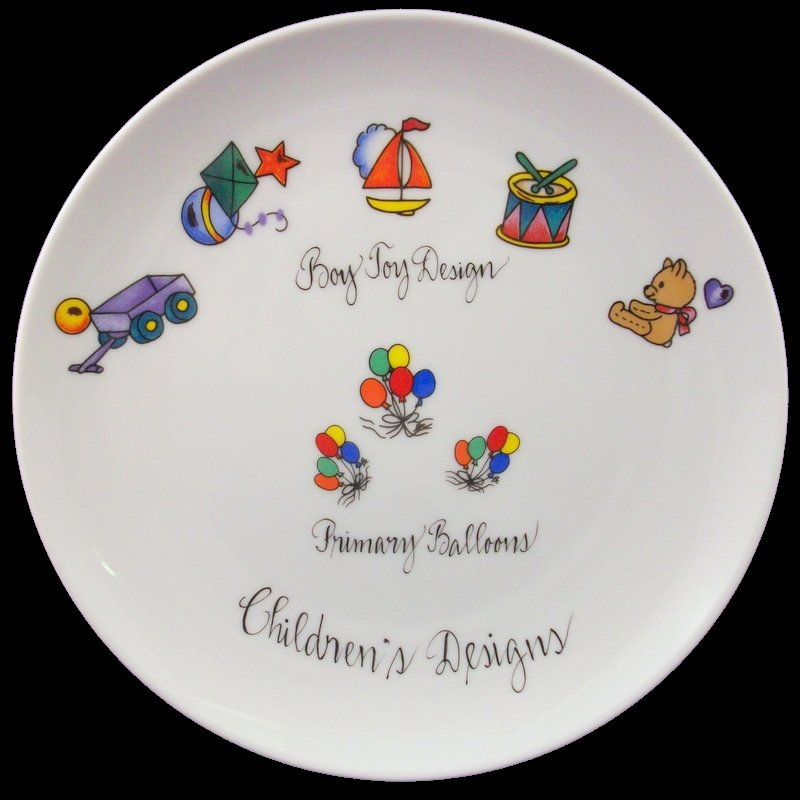 Children's Porcelain Designs